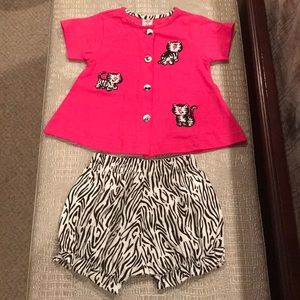 COPPER KEY BABY GIRLS OUTFIT